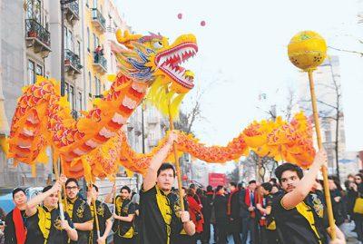中国春节 温馨世界