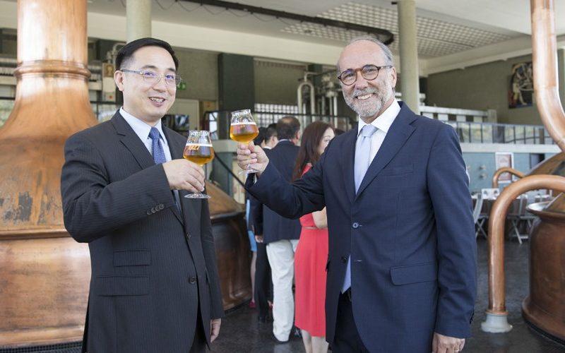 Embaixador da China em Portugal visita o Super Bock Group