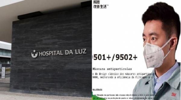 Luz Saúde faturou ao Estado 37,6 milhões com material contra Covid-19
